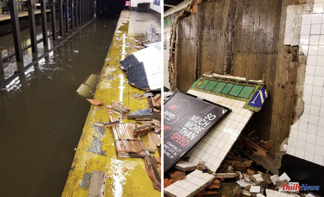 MTA Subways Weather 100-Year Storms Every Month. 'New Solutions' Are Found