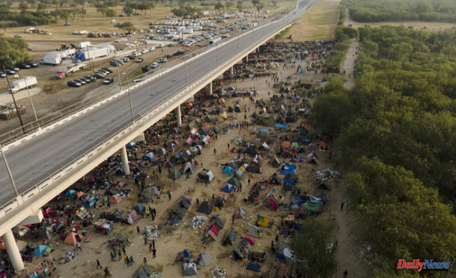 Officials: Many Haitian migrants have been released by the US