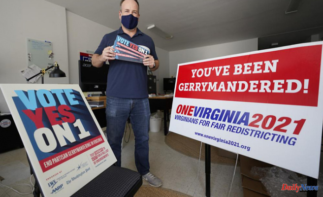 Splitting of redistricting commissions is common along partisan lines