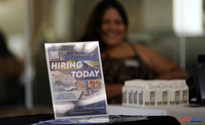 The US's unemployment claims rose from a near-pandemic low