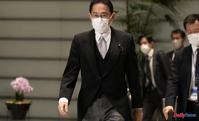 Japan's new PM seeks a fresh mandate to manage virus and economy