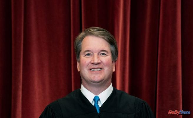 Justice Brett Kavanaugh passes the Covid-19 test