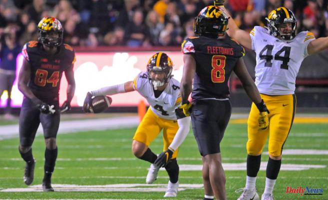 Maryland football suffers a crushing 51-14 defeat to No. 5 Iowa