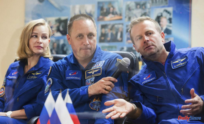 Russia crew to launch to space to film their first movie