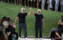 Armani Reveals off scar out of arm fracture in recent...