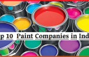 Top 10 Best Paint Company in India