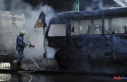 14 killed when a bomb explodes on a military bus in...