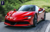 Ferrari SF90 Stradale Hybrid: 1000 HP from a V8 and three electric works