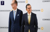 Leadership changes: the Commerzbank share very much in demand