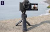 Video camera ZV-1 from Sony: In the scene gevloggt