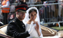 Harry and Meghan talked before the wedding about Megxit - view