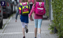 From the area at risk in the school: Tricky race before the start of School