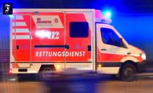 Intersection schiersteiner Kreuz: Five people in a car accident, severely injured