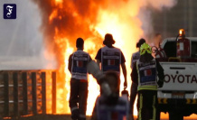 Fire accident in formula 1: and So it goes with Grosjean now