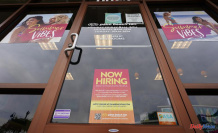 As hiring increases, US jobless claims have fallen to a historic low