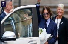 Process, London: bodyguard: Depp has been beaten by Ex-wife