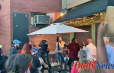 Diner in Louisville Brings handgun as Outfitted BLM protesters swarm restaurant