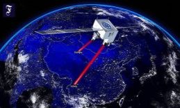 A global quantum Internet: coded messages from space