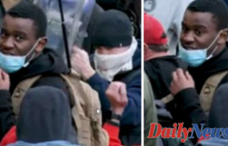 Capitol rioter accused of striking police with baseball...