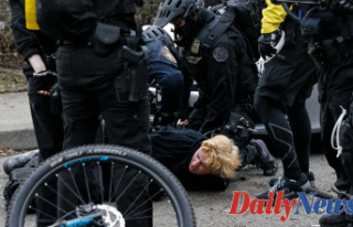Left-wing riots rattle US cities after President Biden's...