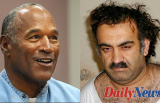 OJ Simpson gets vaccinated Before you -- and 9/11...