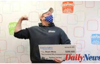Idaho Guy wins lottery -- to the sixth time