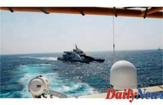 Explosive-laden'drone' Vessel Goals Saudi...