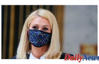 Paris Hilton returns to Utah for Registering of Heterosexual...
