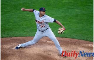 Detroit Tigers catcher Grayson Greiner (left hamstring)...