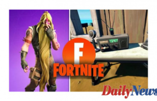 Fortnite Utilize CB Radio Foreshadowing Barrier map...