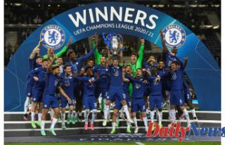 Kai Havertz fires Chelsea to Champions League glory...