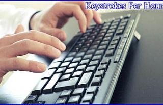 Keystrokes Per Hour Test