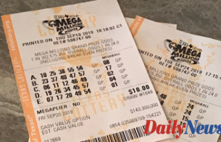 Mega Millions lottery numbers drawn