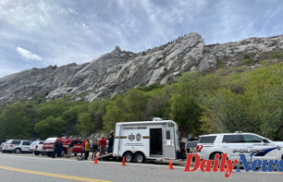 Utah climber rescued from Place called'Particular...