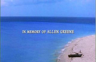 Who is Allen Greene (In Memory of) from Shawshank...