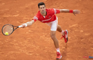 2021 French Open men's final: Novak Djokovic...