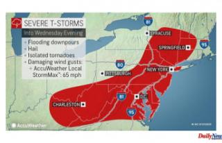 AccuWeather Alert: Flash flood, severe thunderstorm...