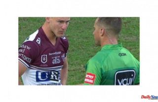 'Amazing': Referee Grant Atkins Places Daly...