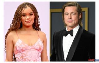 Andra Day discusses Brad Pitt's dating rumors