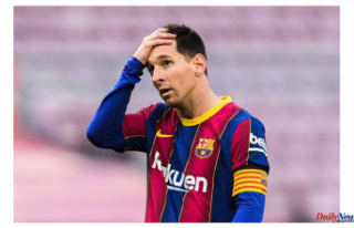 Barcelona concerns about Lionel Messi's contract...