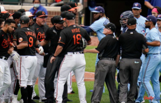 Benches Apparent in Orioles-Blue Jays Match Following...