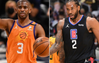 Chris Paul, Kawhi Leonard Outside for Suns-Clippers...