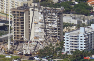 Condo collapse rescue slows down for families