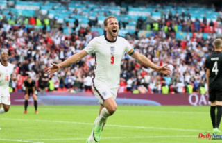 England vs. Germany: Raheem sterling and Harry Kane...