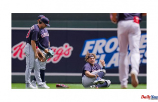 Josh Naylor, Cleveland Indians, has broken his ankle...
