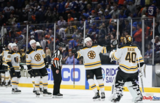 Marchand's Overtime Goal Gives Bruins Series...