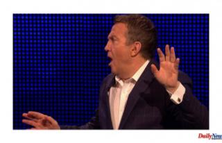 Mark Labbett yells Bradley Walsh following The Chase...