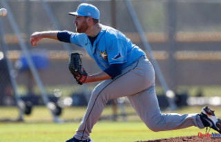 Rays prospect pitcher pitcher Tyler Zombro hit in...
