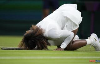 """Sad story"": Serena Williams has been injured..."
