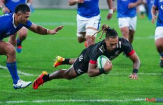 Samoa's Maori All Blacks are too strong for Samoa